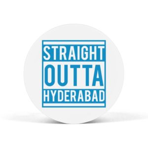 Straight Outta Hyderabad Pop Grip